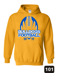 Football Booster T-Shirt, Hoodie and Apparel Designs and Ideas