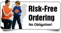 Risk Free High School Football Team Booster T-Shirts, Hoodies and Apparel