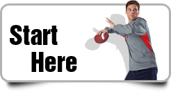 Start Here High School Football Team Booster T-Shirts, Hoodies and Apparel